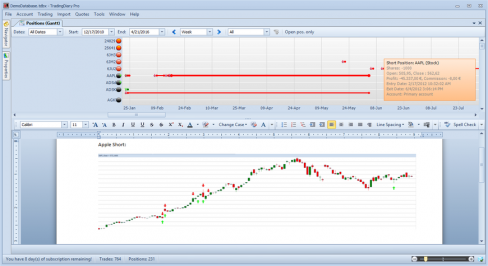 Forex trading journal software